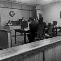 Deputy Prosecutor Jessica Bansbach questions FCM Kristen Wilcken.