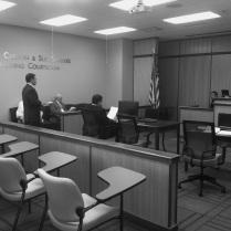 FCM Sam Charbonneau is questioned by Prosecutor Henderson.