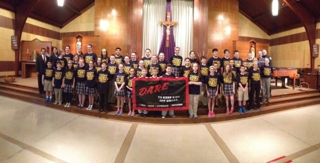 D.A.R.E. Program - Holy Family School (6th Grade)